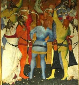 Giovanni_del_biondo_(attr.),_trittico_di_san_sebastiano,_1375-1380_ca._03 - Copia